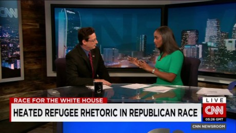 exp Republican candidates sound off on refugees_00014009