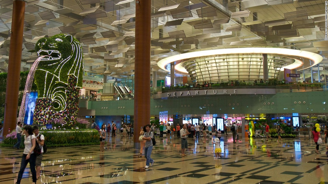 """""""Singapore's Changi. That thing is more of a mall than an airport. They have everything from a butterfly garden, to swimming pools. It's modern, it's easy to transit, it's convenient. Unbeatable,"""" said Schlappig."""