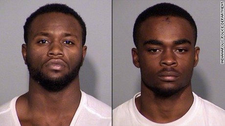 Larry Taylor and Jalen Watson, arrested in the murder of Amanda Blackburn.