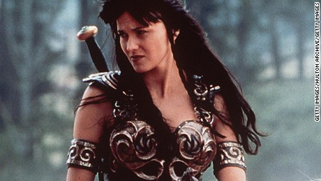"""1999 Lucy Lawless Stars In """"Xena: Warrior Princess.""""  (Photo By Getty Images)"""