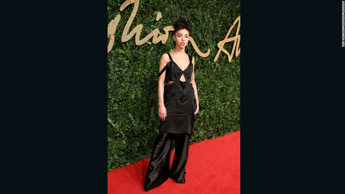 British Style -- Fashion Innovator winner FKA Twigs.