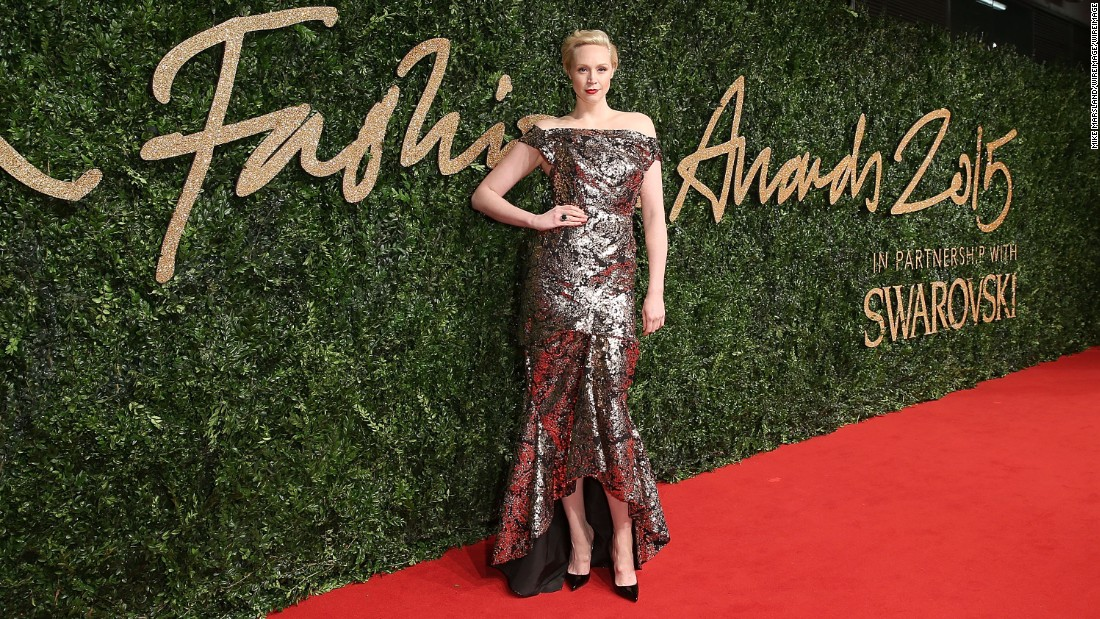 British Style - Red Carpet Ambassador winner Gwendoline Christie