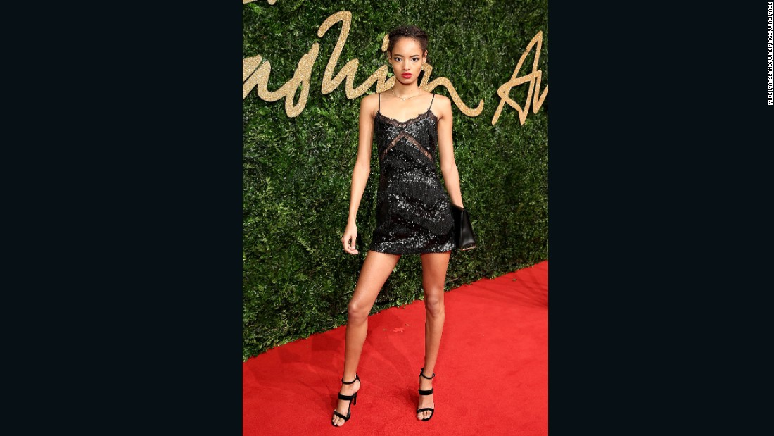 Model of the Year nominee Malaika Firth.
