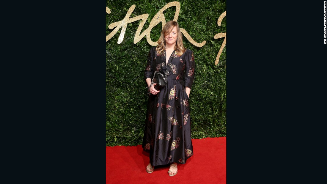Alexander McQueen creative director Sarah Burton, nominated for Brand of the Year.