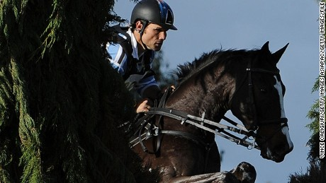 MELBOURNE, AUSTRALIA - JUNE 08:  Shane Rose riding Shanghai Joe in the Cross Country CCI3* event during the Melbourne International Horse Trials at Werribee Park on June 8, 2014 in Melbourne, Australia.  (Photo by Vince Caligiuri/Getty Images)