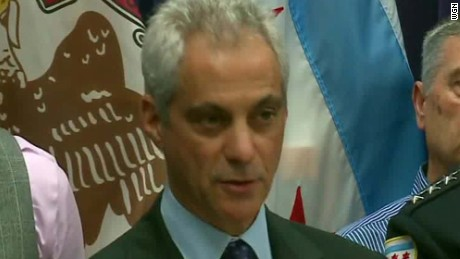 Chicago Mayor Rahm Emanuel calls for peace