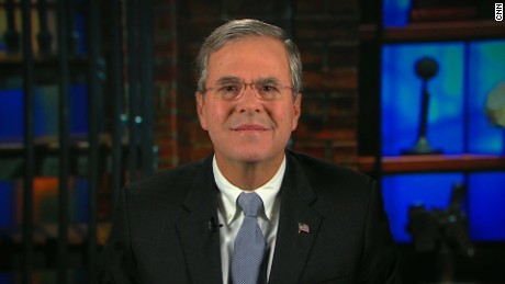 Jeb Bush Thanksgiving eve New Day interview