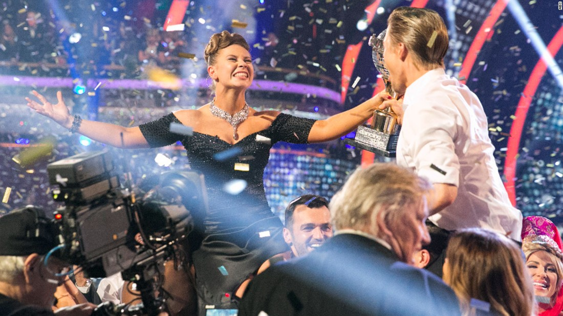 Bindi Irwin and Derek Hough were crowned season 21 champions.