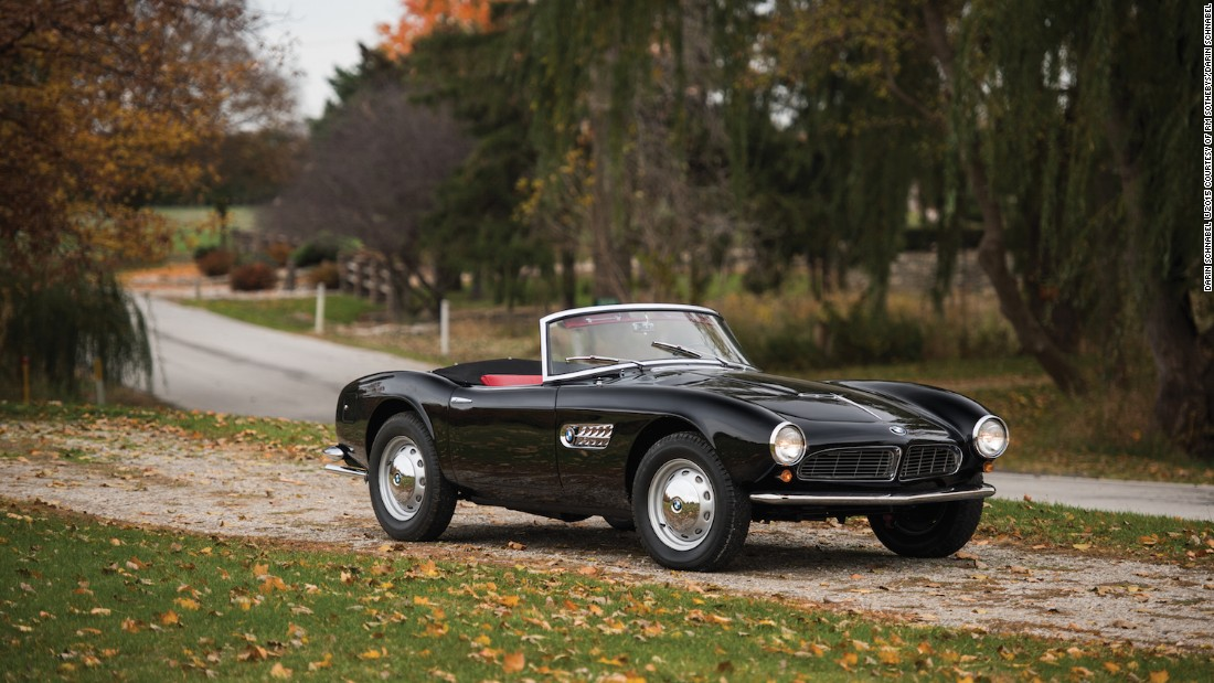 For a German car that's not a Gullwing to find itself in such exalted company is news in itself. However as RM notes the 507 is as important to collectors as it is to sports car history as a whole.