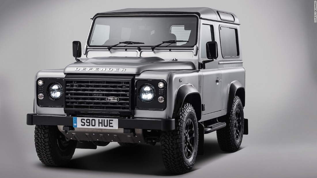 At a special sale in London on December 16, Bonhams will also auction the 2,000,000th Land Rover built since 1948, specially commissioned to celebrate 67 years of production and one of the last ever to made as the model nears retirement. All proceeds will go to charity.