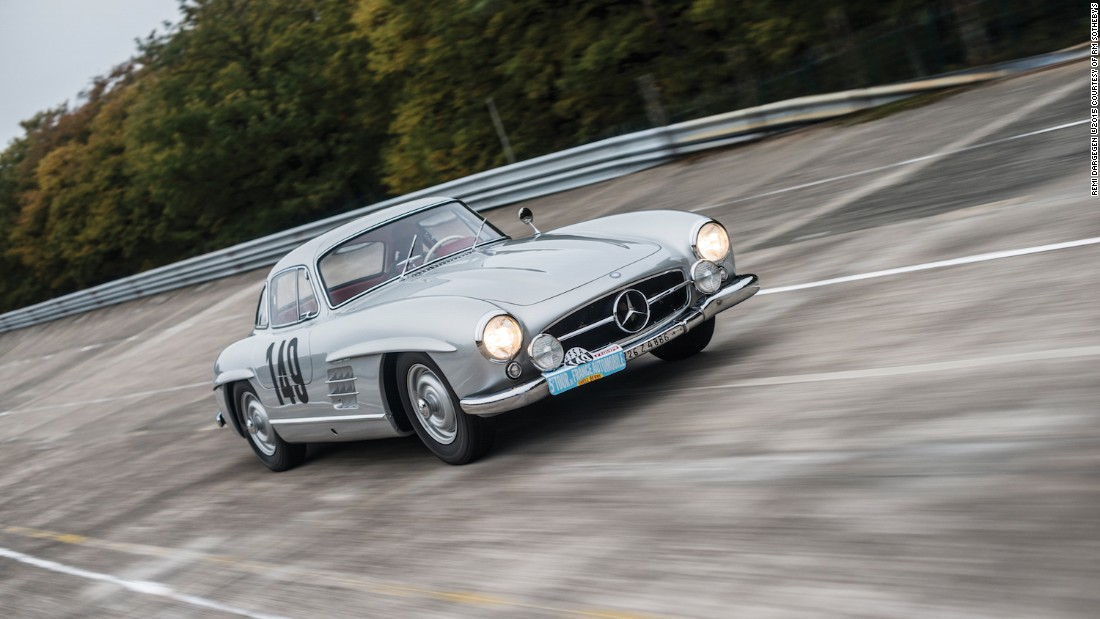 "It is scarcely possible for the Mercedes-Benz Gullwing to get any more desirable -- unless, like this one, it was driven by the great <a href=""http://www.stirlingmoss.com/"" target=""_blank"">Stirling Moss</a>. An icon's icon, it still wears the livery from Moss' second overall finish at the legendary Tour de France in 1956."