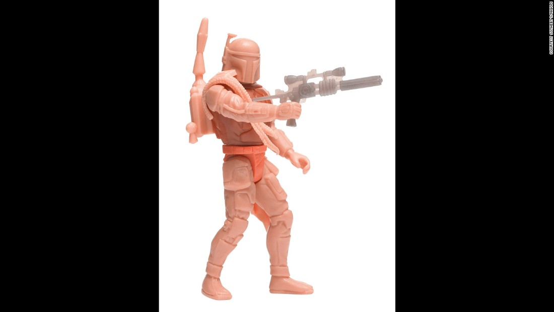 We told you Boba was popular, didn't we? This 1995 prototype from the Power of the Force range shows him in all his nude glory, selling for well over its $400-600 estimate. <br /><br /><br /><br /><br />