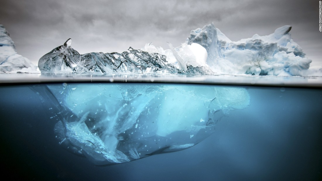 <strong>March 17:</strong> An iceberg in Antarctica, one of the most remote places on Earth.