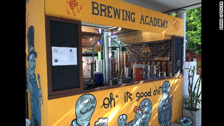 P'Chit devotes his weekends to spreading brewing knowledge.