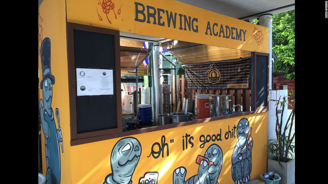 During the six-hour training sessions, P'Chit discusses the legal risks before walking pupils through each step of the brewing process. Its popularity shouldn't be underestimated -- sometimes sessions are booked out months in advance.