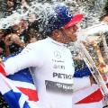 lewis hamilton wins title champagne 2015