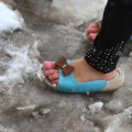 refugee shoe snow