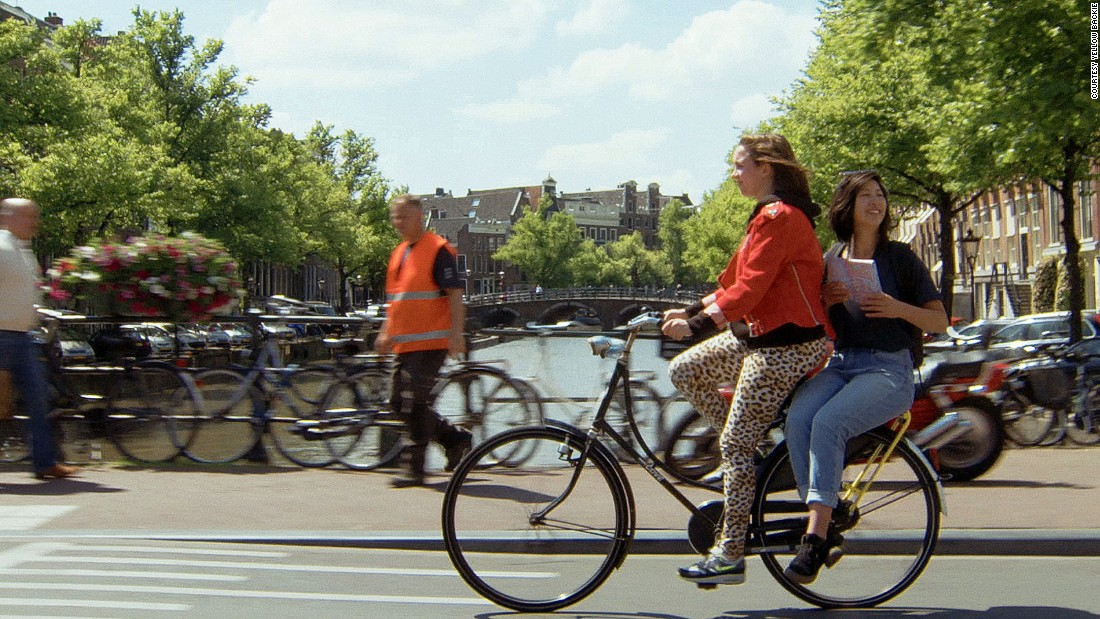 <strong>Netherlands: </strong>The Netherlands is MacDonald's favorite country for cycling. In 2015, Amsterdam launched the Yellow Backie bike lift scheme as an innovative new way for tourists to see the city.