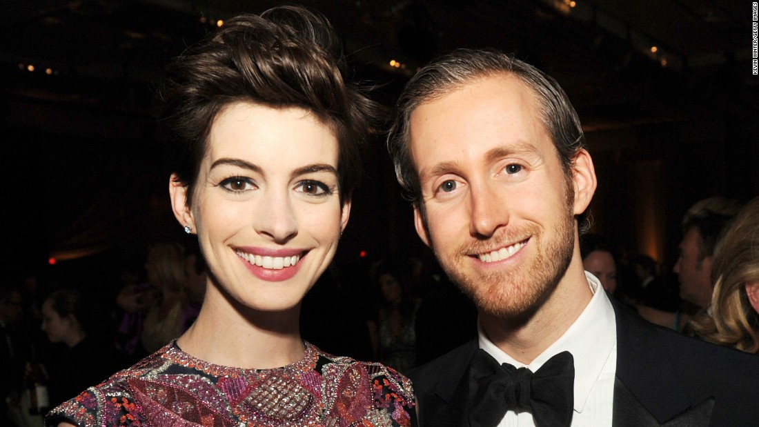 "Oscar-winning actress Anne Hathaway and husband Adam Shulman welcomed a son named Jonathan Rosebanks Shulman on March 24, <a href=""http://www.eonline.com/news/747685/anne-hathaway-gives-birth-to-baby-boy-find-out-his-name"" target=""_blank"">according to an E! News report</a>. The couple confirmed they were expecting their first child <a href=""http://www.cnn.com/2016/01/05/entertainment/anne-hathaway-pregnant-instagram-feat/index.html"">in an Instagram post</a> in January."