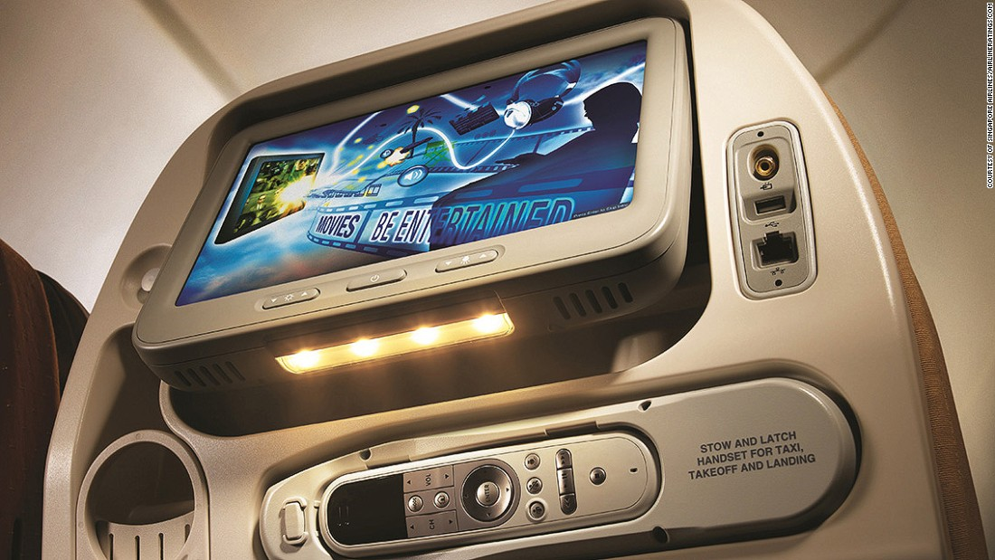 Singapore Airlines was an inflight entertainment pioneer in the '90s, when it fitted out all its economy seats with the IFE system it calls KrisWorld. It now offers 1,000 on-demand options.