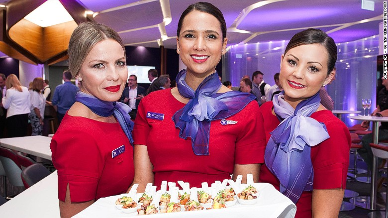 """Virgin Australia and Virgin Atlantic held onto their Best Cabin Crew crown. In 2016 AirlineRatings.com praised them as a """"benchmark of what cabin service should be."""""""