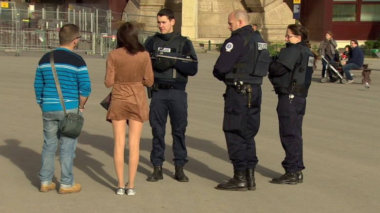 Security concerns in Paris ahead of climate summit