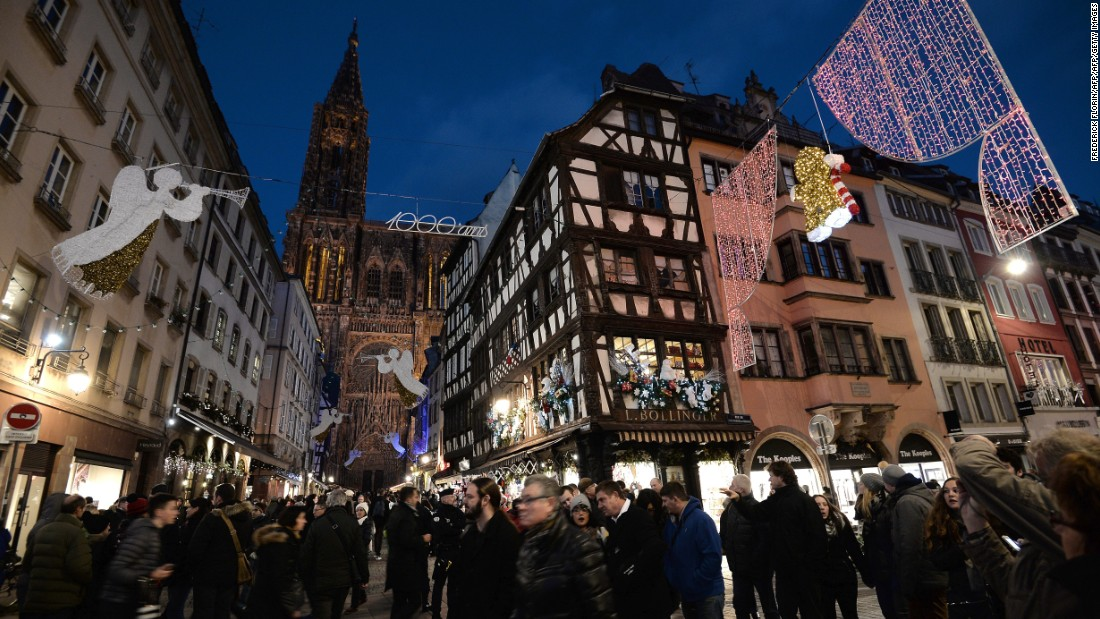 Strasbourg's series of themed Christmas villages morph the city into a visual and gastronomic wonderland. Luxembourg is honored this year with its own dedicated village.
