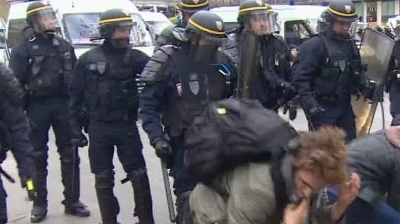 COP21 Paris Protestors Sutter Pkg_00012221