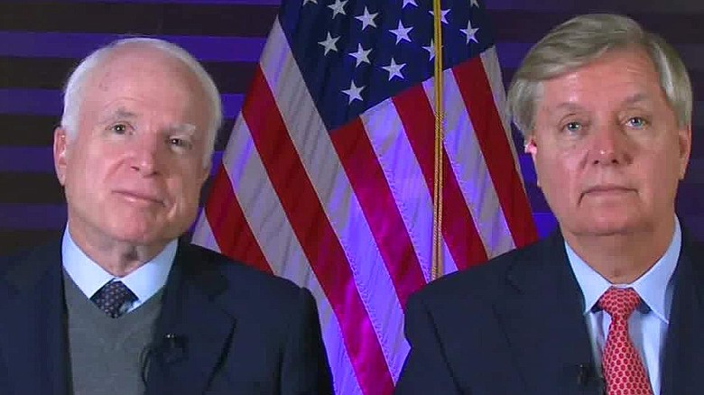 Graham, McCain call for 20,000 troops in Syria and Iraq