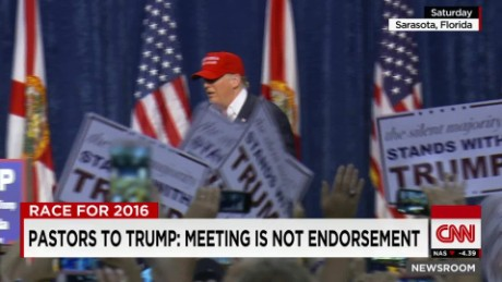 exp Pastors to Trump: Meeting is not endorsement _00002001