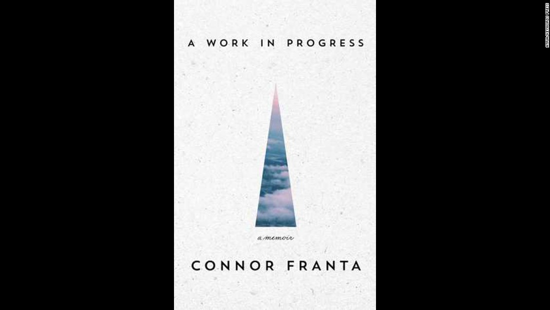 """A Work in Progress"" by Connor Franta, 22, won in the memoir and autobiography category. It's the story of his struggles as a teen in a small Midwestern town and what he learned from his rise to Internet stardom."