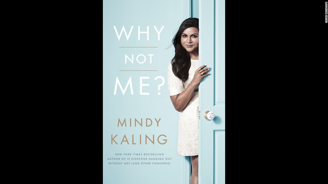 "Actor/producer/author Mindy Kaling wins over readers in the humor category with her book ""Why Not Me?"""