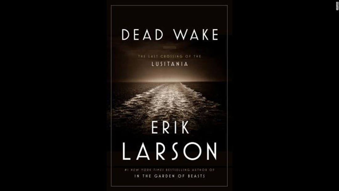 "In ""Dead Wake: The Last Crossing of the Lusitania"" by Erik Larson, the rules of war would change forever. Larson's book took the award in the history and biography category."