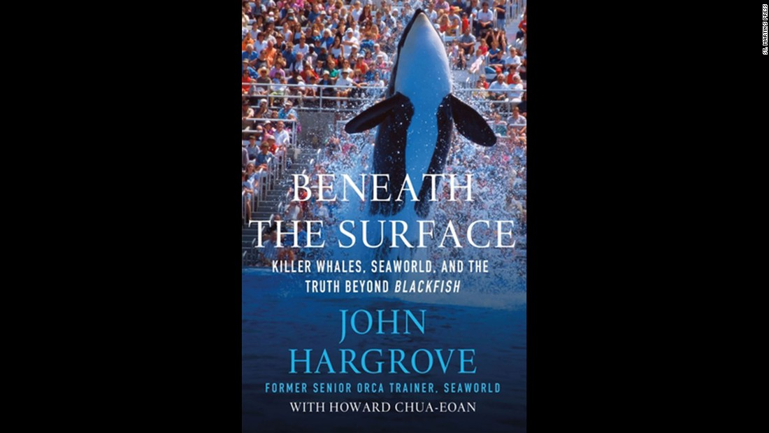 """Beneath the Surface: Killer Whales, SeaWorld, and the Truth Beyond Blackfish,"" by former orca trainer John Hargrove, won best science and technology book. Hargrove is featured in the CNN documentary ""Blackfish."""