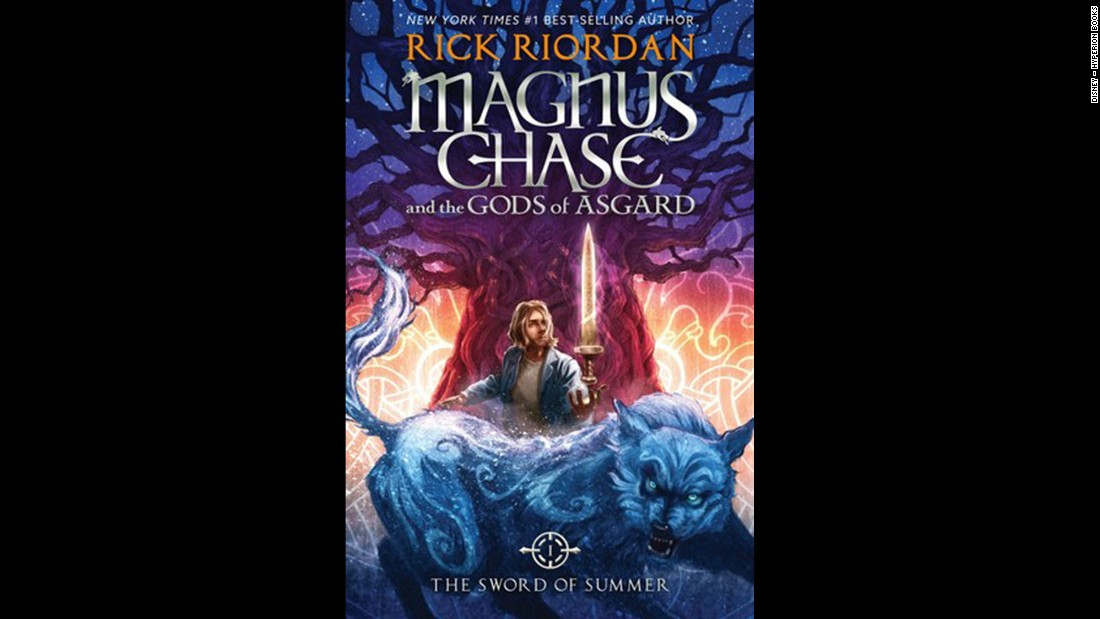 "Rick Riordan knows how to write for the middle grade and children's award. His latest win, ""The Sword of Summer (Magnus Chase and the Gods of Asgard #1),"" means he's won this category for the fifth year in a row."
