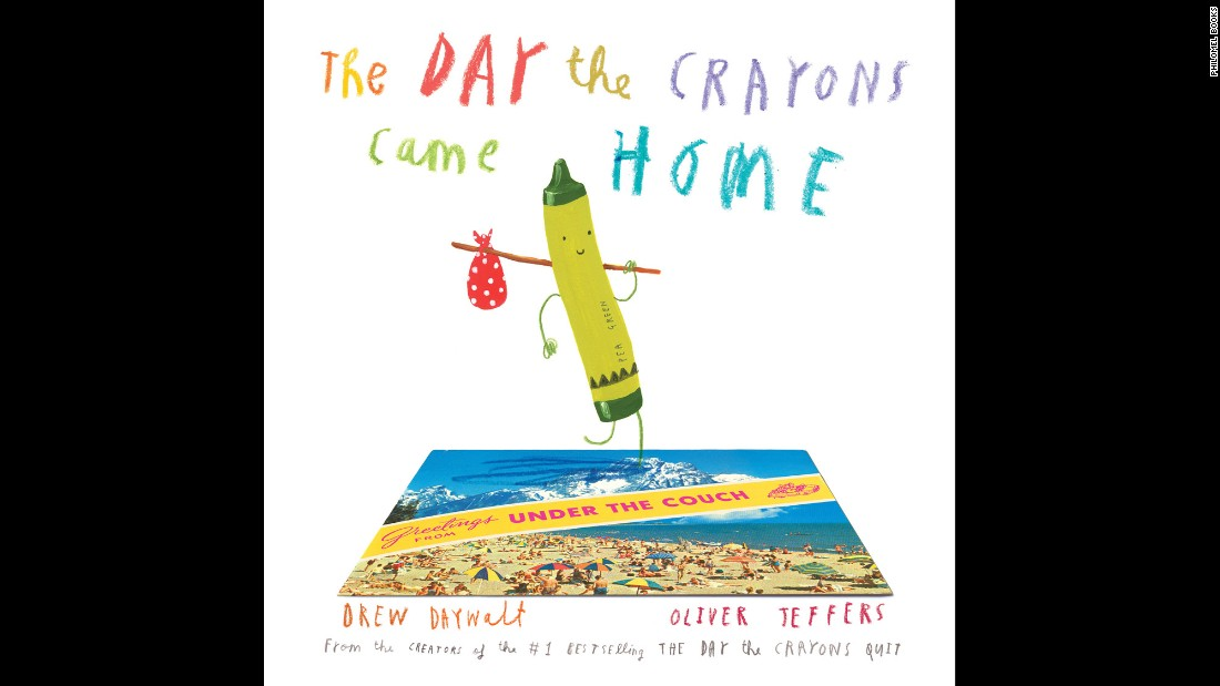 "The best picture book of 2015, say Goodreads voters, is ""The Day the Crayons Came Home"" by Drew Daywalt and Oliver Jeffers (illustrations). It's worth the wait to find out what happened after ""The Day the Crayons Quit,"" which won in 2013."