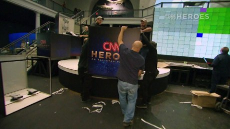 CNN Heroes Tribute Show:  Here's your Backstage Pass!