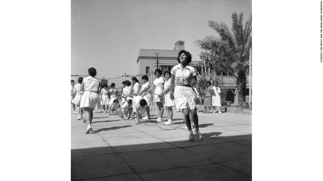 Al Aqida, High School, Baghdad, 1961