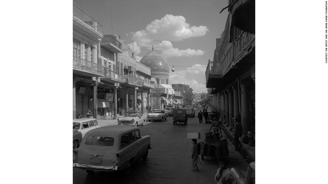 Rashid Street, Haydarkhana, Baghdad, 1961
