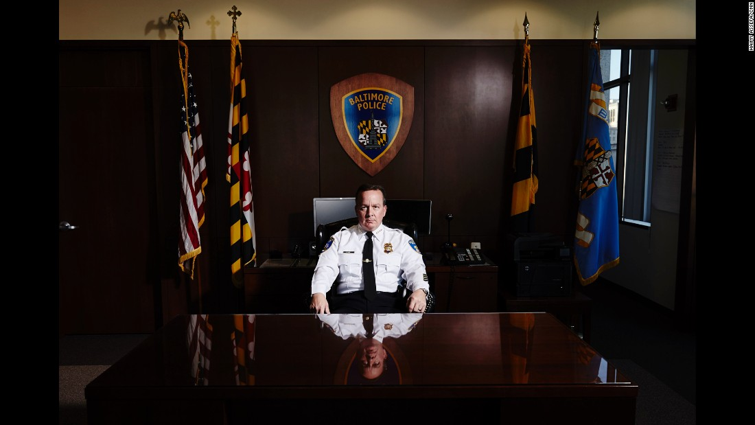 "As the new police commissioner of Baltimore, Kevin Davis came into his role in the immediate aftermath of the unrest. This is a pivotal point for the city, said Davis. ""People who find themselves in the midst of a historic moment don't always realize that they are in the midst of a historic moment,"" he said, ""I realize that's where we are."" Davis is starting by establishing relationships with various groups in the community to prevent the type of unrest the city experienced in April and May."
