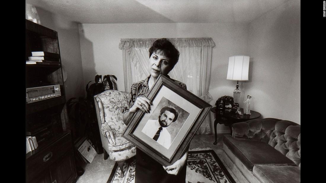 """ 'Mother, don't worry. It's just a virus. I'll be o.k. I always have and I always will.' "" Ricardo M. Llera, Atlanta, 1987"