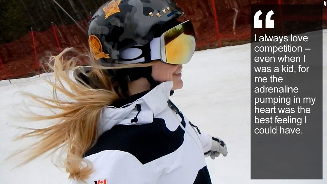 "The youngest of three international skiing sisters, the 21-year-old from Montreal has taken the freestyle world by storm, winning Olympic gold and charming fans. <a href=""http://edition.cnn.com/2015/12/02/sport/justine-dufour-lapointe-freestyle-skiing-olympics-canada/index.html"" target=""_blank"">Read more</a>"
