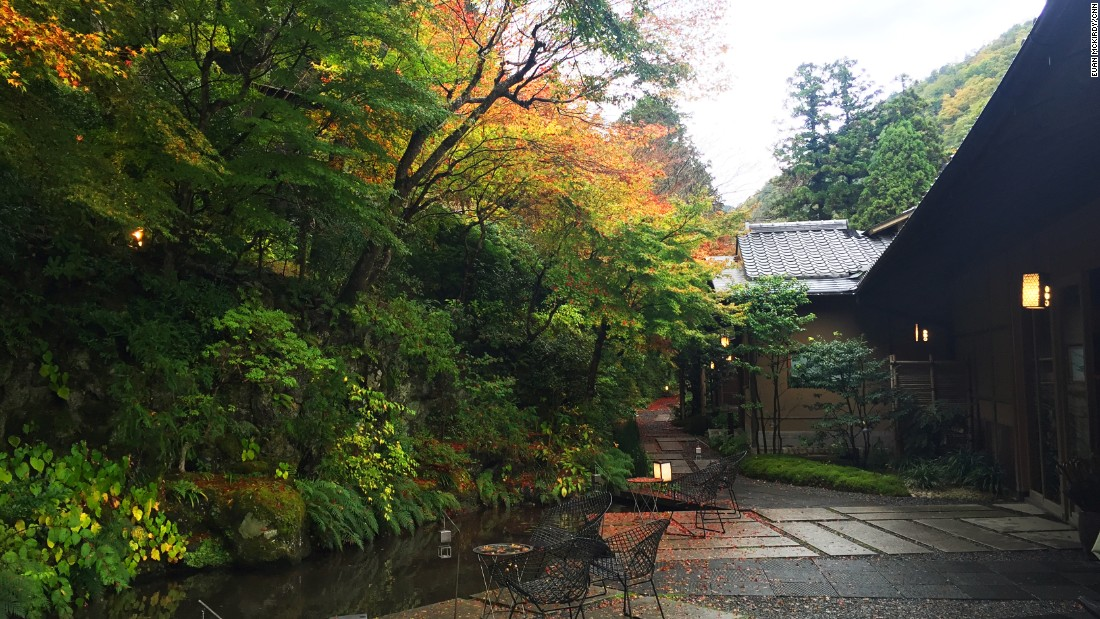 The ryokan has been owned by the Hoshinoya group for the past six years and has undergone several significant upgrades since then.