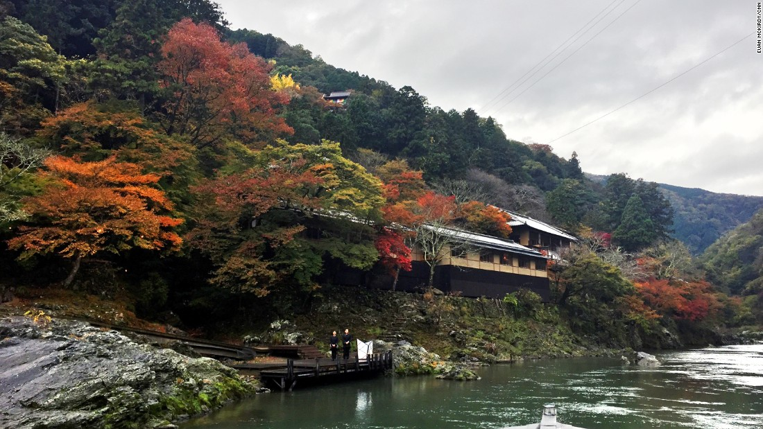 The beautiful structure used to be the private retreat of Suminokura Ryoi, a wealthy Kyoto merchant.