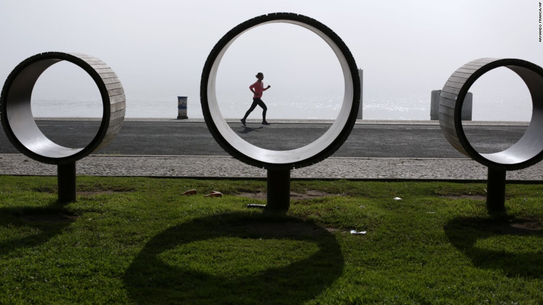 "For those who want to keep up with their training regime while on a city break in Lisbon, <a href=""http://lisboncityrunners.com/en/"" target=""_blank"">Lisbon City Runners</a> offers several running routes around the city. Winter temperatures are easier going than in the sweltering summer, but be warned -- it's still pretty hilly."