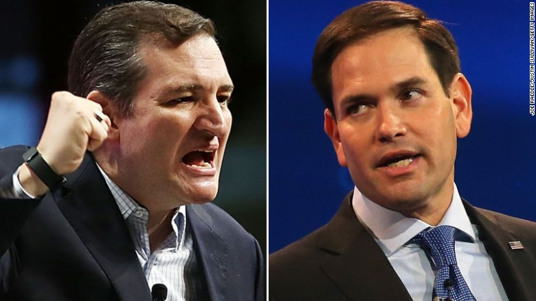 Marco Rubio accuses Ted Cruz of dirty tricks