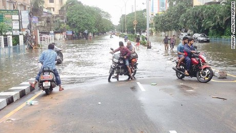 India battling deadly floods in Chennai