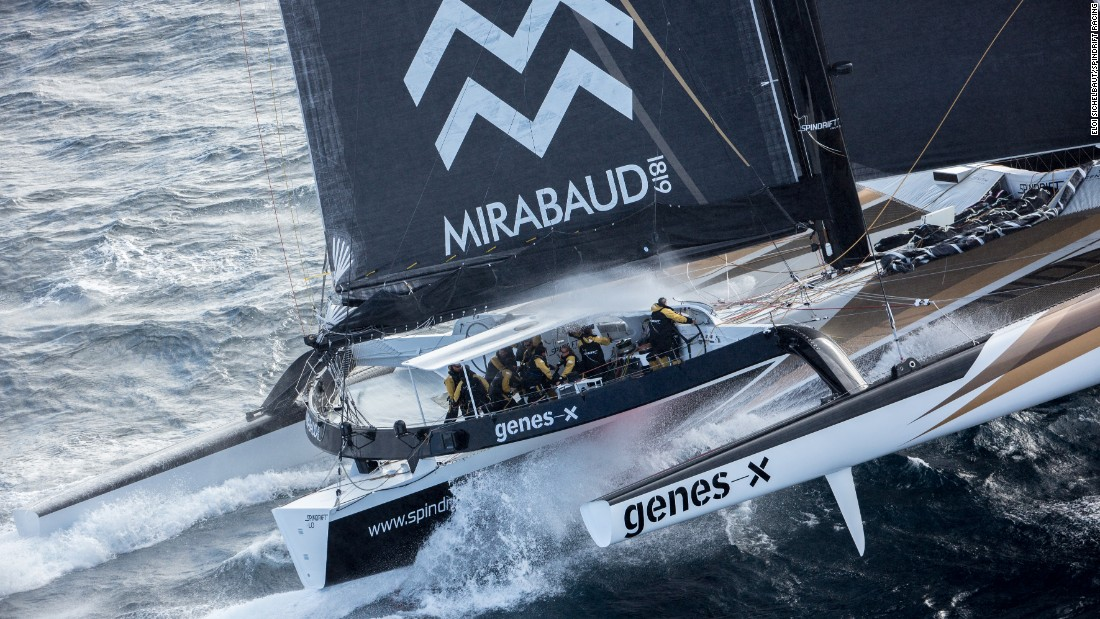 Prior to that the 47-year-old Bertarelli had a wealth of sailing experience of her own, twice winning the much-coveted Bol d'Or Mirabaud in her homeland -- the first woman in history to do so -- as well as co-skippering the Maxi Spindrift 2 team to victory in the 45th Rolex Fastnet race.
