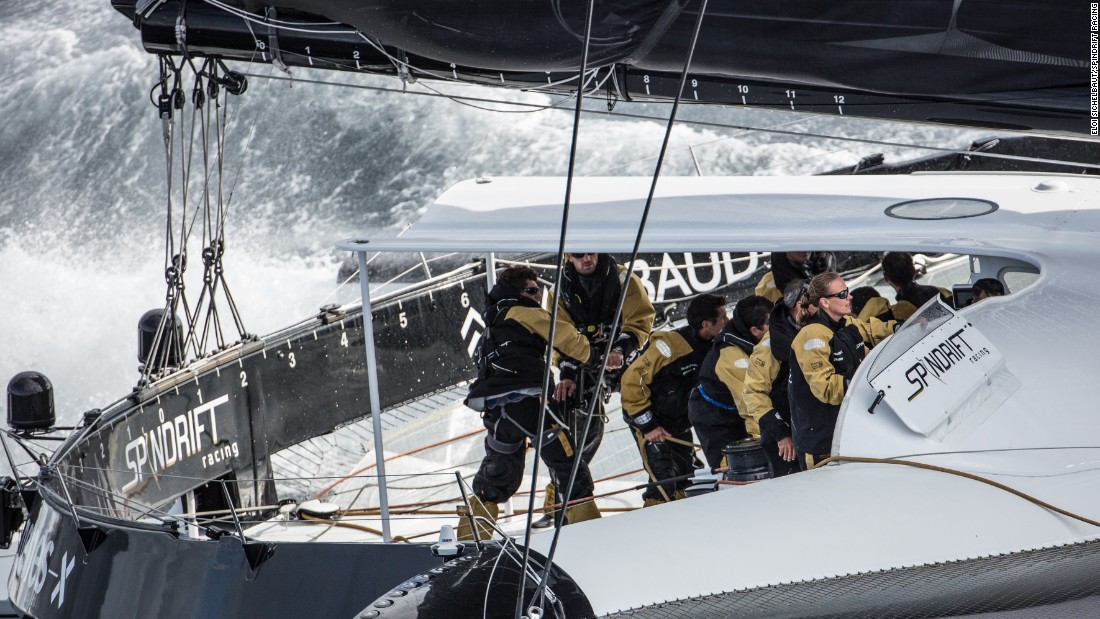 Sailing the Spindrift 2 trimaran, skippered by French sailor and long-term partner Yann Guichard, Bertarelli is aiming to break the mark -- 45 days 13 hours 42 minutes 53 seconds -- set by Loick Peyron and his crew in 2012.
