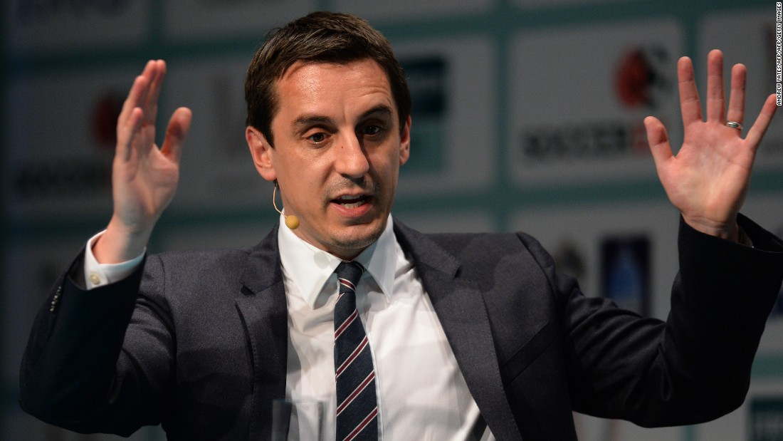 Neville has also carved out a reputation as a respected soccer pundit, writing a regular column for The Times newspaper, as well as appearing on television for Sky Sports.